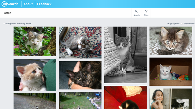 Find Free Images with CC Search