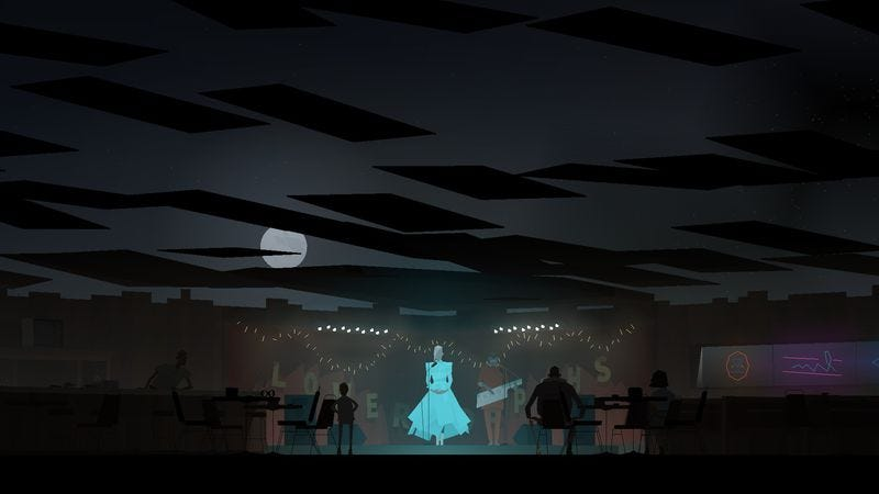 Illustration for article titled Kentucky Route Zero's theatricality takes center stage in its third act