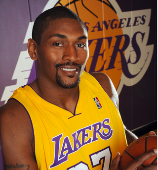 Illustration for article titled Ron Artest Participates In Requisite LA Glamour Shot Session