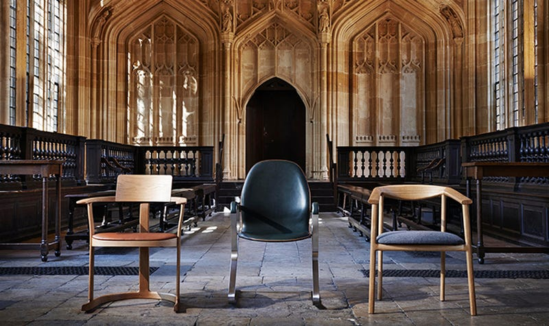 Illustration for article titled Oxford's Library Chooses Its First New Chair Design Since 1936