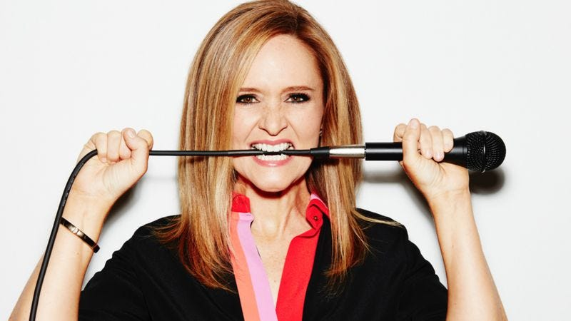 Illustration for article titled Full Frontal With Samantha Bee crashes and enlivens the late-night party