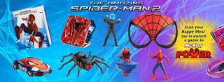 Illustration for article titled Happy Meals Will Feature Boys And Girls Spider-Man Toys