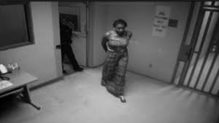 Texas officials released some three hours of video footage in an attempt to dispel rumors that Sandra Bland was already dead when she arrived at the Waller County jail. The video still above shows Bland entering the jail shortly after her arrest July 10, 2015.ABC 7 Chicago Screenshot