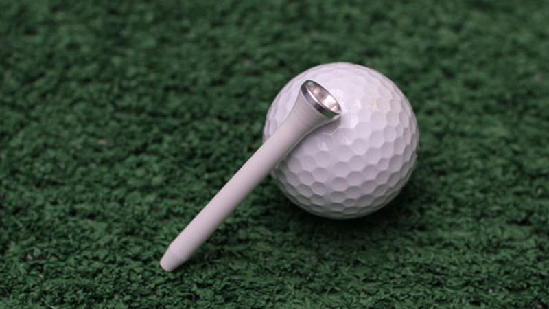 Illustration for article titled Puff on a Par 4  with this Sneaky Tee Weed Pipe