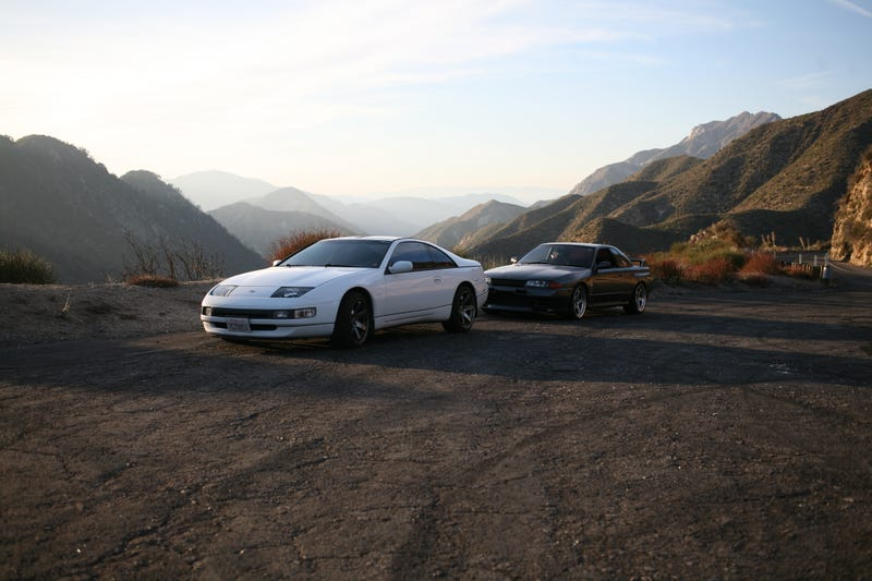 Illustration for article titled Went for a gorgeous cruise up Angeles Crest Highway yesterday