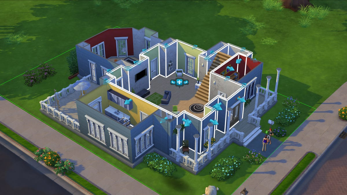 sims 4 download houses xbox one