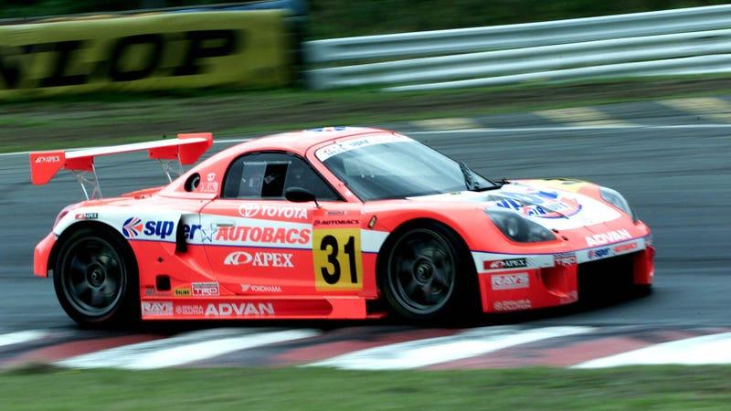 Super GT's second round in the 2000 season, run at Fuji. Photo: Gazoo Racing