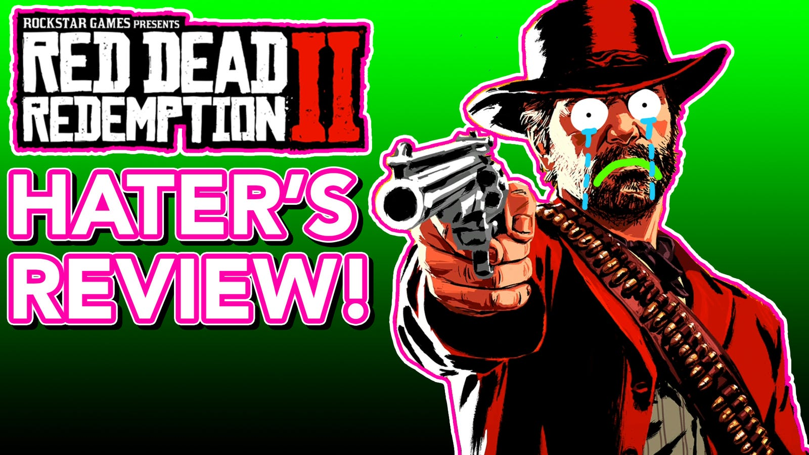 The Hater's Review Of Red Dead Redemption 2