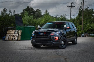 Illustration for article titled Ford Sells More And More Explorer Police Interceptors, Fewer And Fewer Taurus Police Interceptors