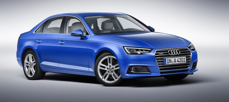 Illustration for article titled See How The 2016 Audi A4 Is Different From The Old A4 (Not Much)
