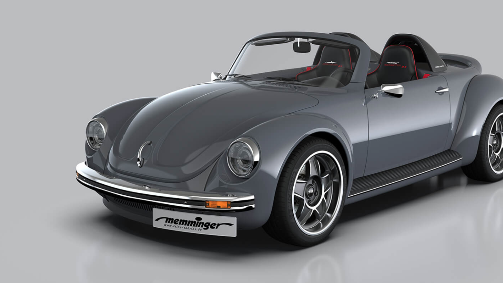 German Tuner Builds Mid-Engined 210 HP Old-School Beetle Roadster Because Life Is For The Living