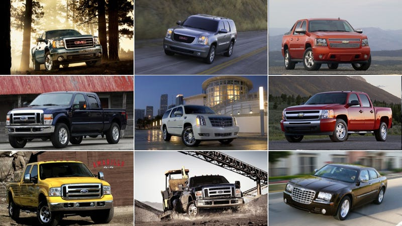 Illustration for article titled America's ten most stolen vehicles still American