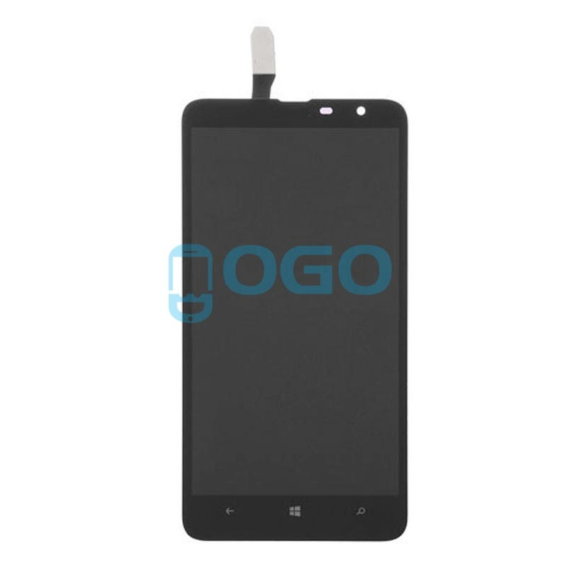 Illustration for article titled LCD & Digitizer Touch Screen Assembly Replacement for Nokia Lumia 1320 - Black