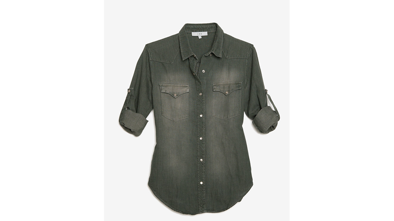 Illustration for article titled Fashion Scavenger Hunt: Help Find This Shirt's Cheaper Twin