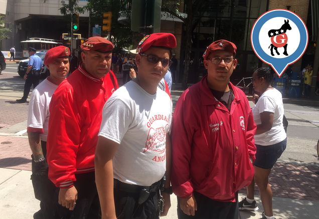 Like The Rest of Us, NYC's Guardian Angels Are Looking For Something To Do At The DNC