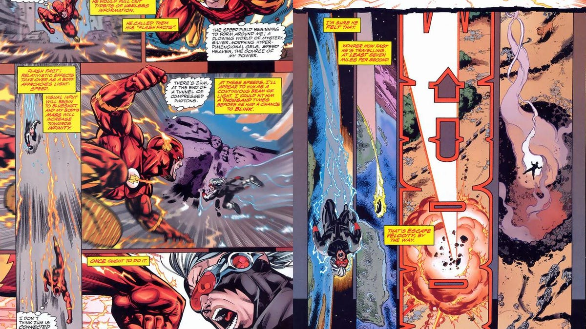 8 Things From The Flash Comics The TV Show Desperately Needs