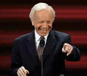 Illustration for article titled Conventional Crap: Joe Lieberman Is Made-Up But Not Imaginary