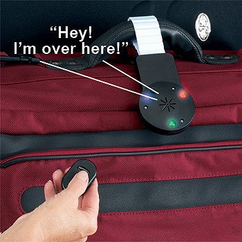 Illustration for article titled The Talking Luggage Locator Needs Better Range