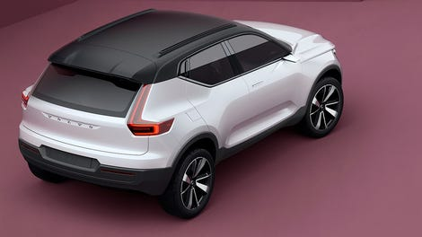 2018 volvo 40. beautiful 2018 the volvo 40 concepts meet sexy compact electric future of intended 2018 volvo