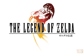 The Legend Of Zelda Has Its Own Logos Theyre Great But What If Looked Like Final Fantasy Ones Well I Guess Theyd Look This