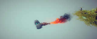 Illustration for article titled Besiege Players Have Built Some Amazing Dicks