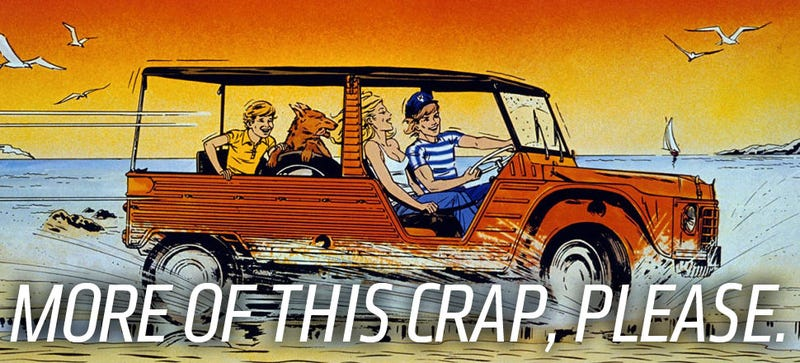 Illustration for article titled What Happened To The Fun Cars?