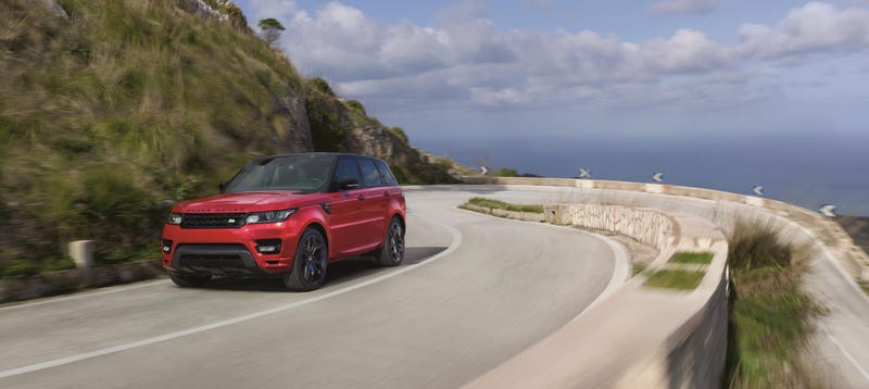 Illustration for article titled 2016 Range Rover Sport HST Is A High-Performance... Base Model?