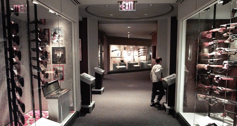 Photo: AP (this is what the NRA museum looked like in 1998)