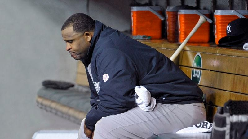 Illustration for article titled 'CC Sabathia Is Hurting Team,' Report Yankees Trapped Beneath Pitcher