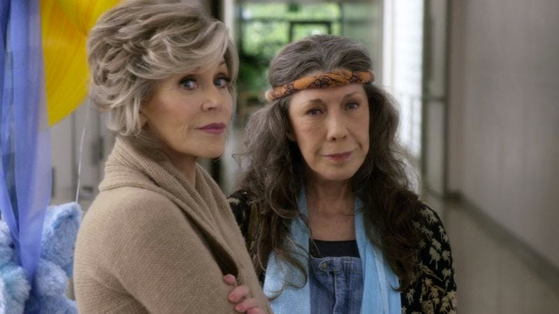 Illustration for article titled Grace And Frankie's friendship blossoms in season two
