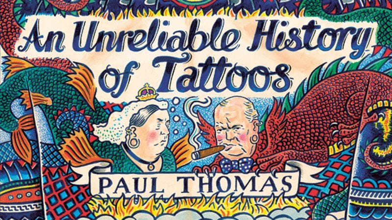 Illustration for article titled Nobrow exclusive: Historical figures get inked in An Unreliable History Of Tattoos