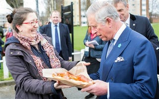Illustration for article titled Prince Charles is Confused and Angry About This Pretzel