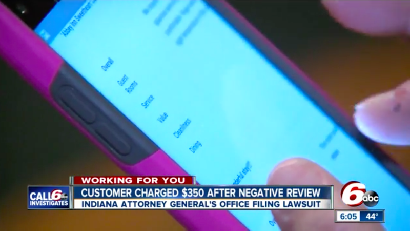 State Suing Brown Co. Hotel For Fining Guest $350 For Bad Review