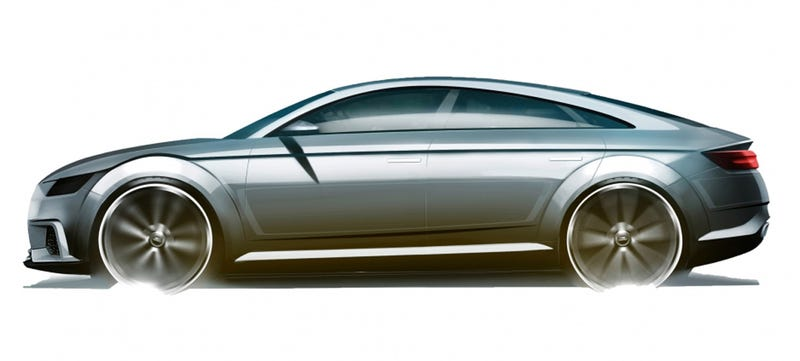 Illustration for article titled Is The Audi TT About To Transform Into A Five-Door Hatchback?