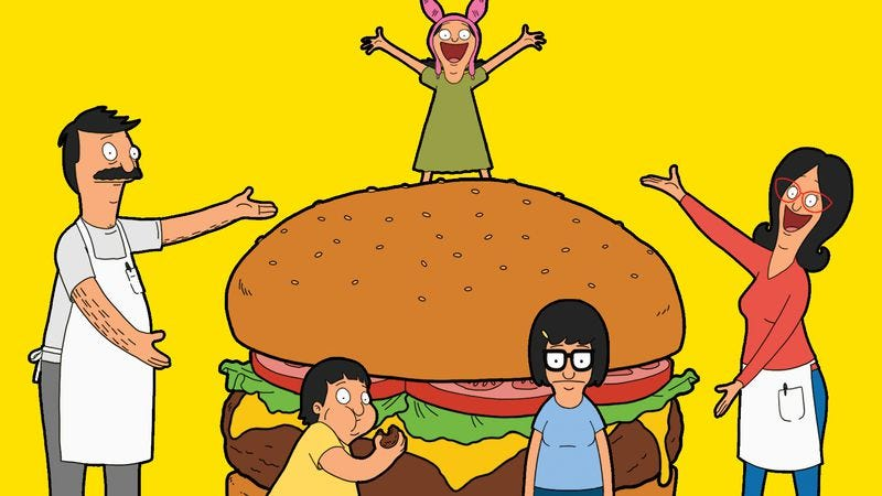 The burgers are as good as the puns in The Bob's Burgers Burger Book