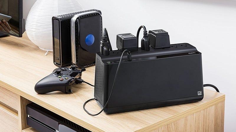 APC Back-UPS 425VA UPS Battery Backup, $40 after $5 coupon | APC Back-UPS 600VA/330W UPS Battery Backup with USB, $52 after $5 coupon