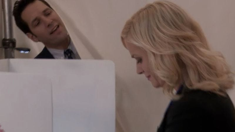 """Win, Lose, Or Draw,"" Parks And Recreation (Screenshot: Hulu)"