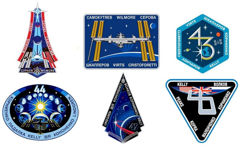 Illustration for article titled The next 6 ISS Expedition patches