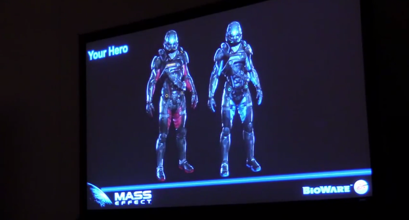 Illustration for article titled Comic-Con Video Shows Bits And Pieces Of The Next Mass Effect