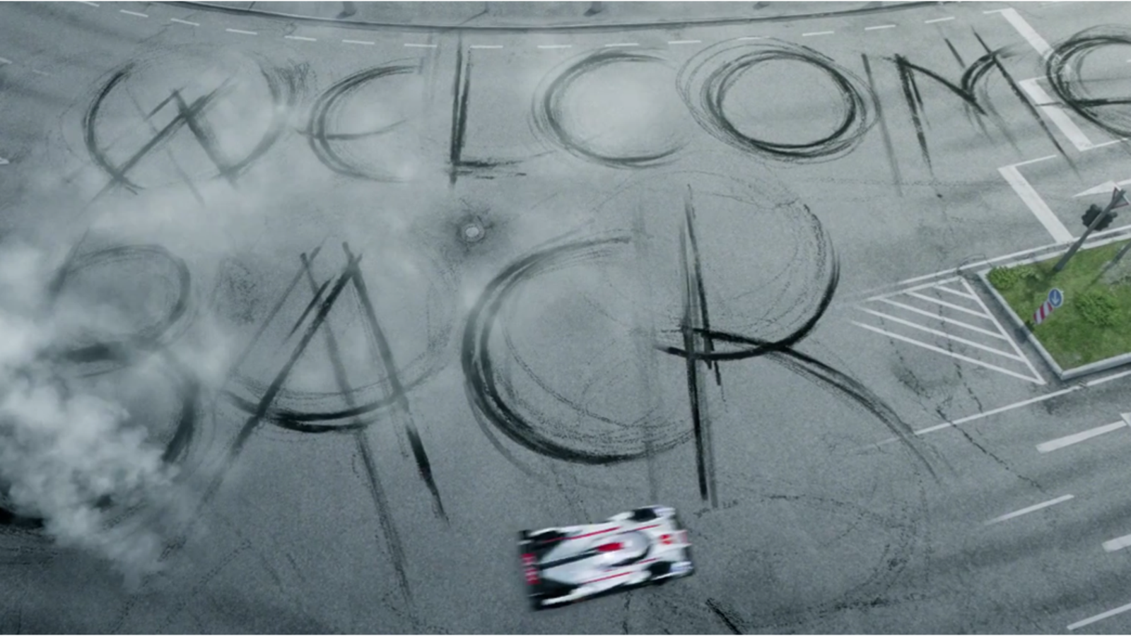 Audi reta a Porsche para Le Mans en este épico vídeo