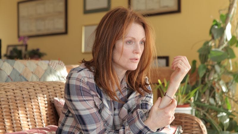 Illustration for article titled Julianne Moore faces an Alzheimer's diagnosis in the nuanced Still Alice