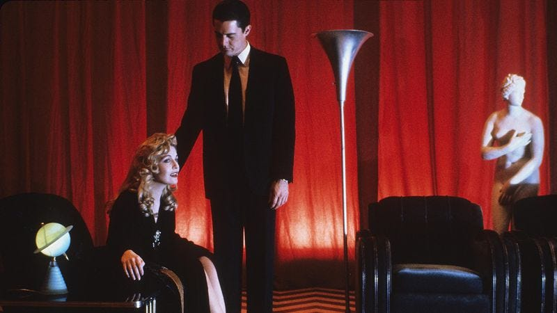 Illustration for article titled Angelo Badalamenti's theme song welcomes Twin Peaks' waking dream