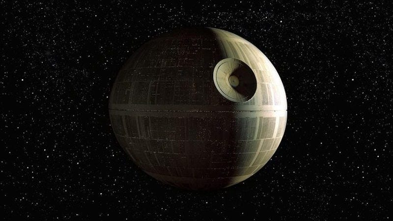 Image: Death Star, Lucasfilm