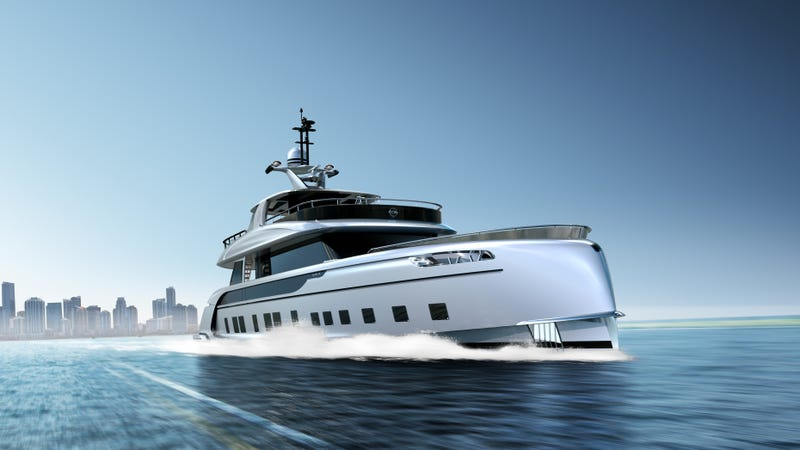 Illustration for article titled The Porsche Superyacht Isn't Expensive Enough