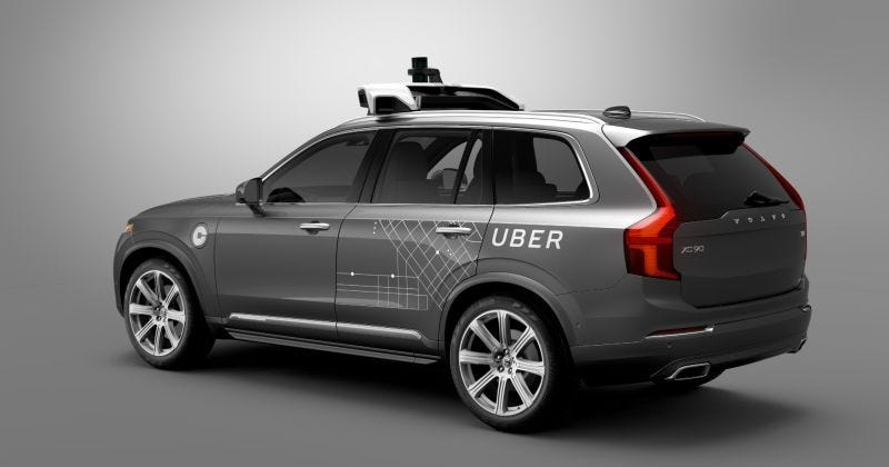 Illustration for article titled California Shuts Down Uber's Self-Driving Program On Its First Day: Report