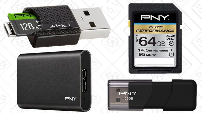 PNY Flash Storage Sale