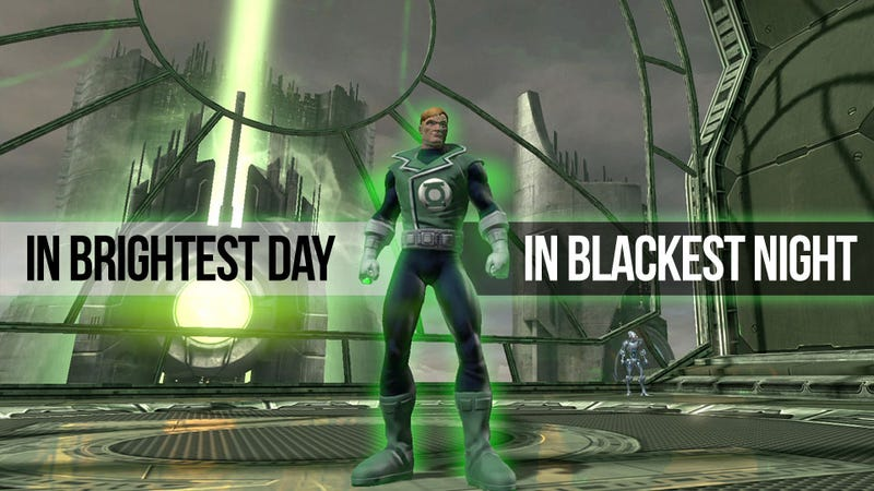Illustration for article titled Green Lantern's Light Comes at a Price in DC Universe Online