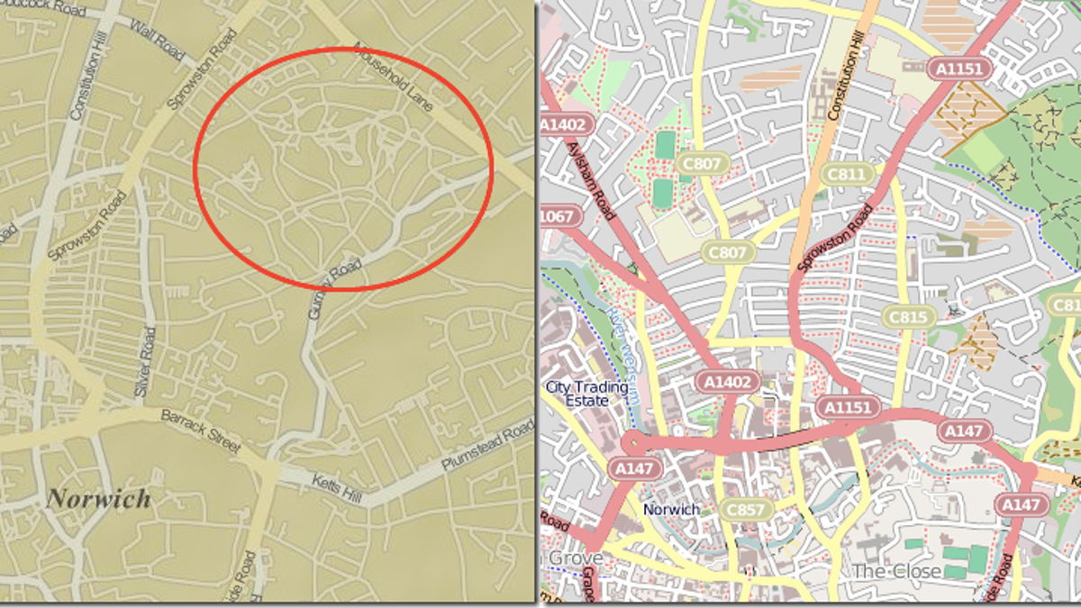 The Fake Places That Only Exist to Catch Copycat Mapmakers