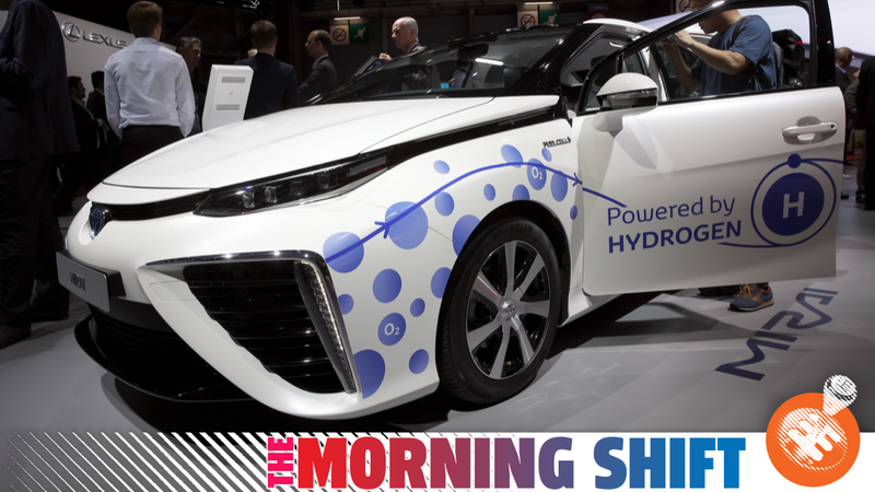 Illustration for article titled Toyota Says It's Going All In On EVs While Also Going All In On Hydrogen Somehow