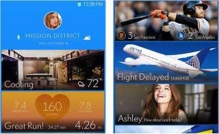 Illustration for article titled Así podría ser el nuevo interfaz del Samsung Galaxy S5